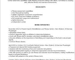 Lifeguard Job Duties For Resume by Resume Exercise Physiologist Cover Letter Tips Resume Community