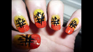 unique chinese new year nail art tutorial youtube