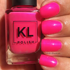 kl polish 2017 summer collection swatch review the polished