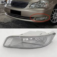 toyota corolla fog lights cafoucs for toyota corolla 2003 2004 2005 2006 car front bumper fog