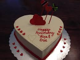 heart anniversary cake ninjasweets com