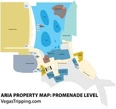 Cosmopolitan Las Vegas Map by The Aria Property Map Vegastripping Com