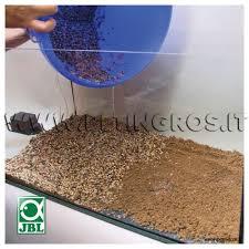 ghiaia per acquari aquabasis plus sottofondo fertilizzato per allestimento acquari jbl