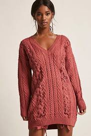 scoop neck sweater dress forever21