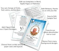 Funeral Program Designs Select A Funeral Program Design And Layout