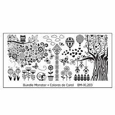 bundle monster 5pc blogger collaboration nail art polish stamping