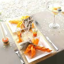 orange table decor littlelakebaseball