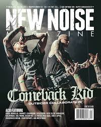 comeback kid on retail cover of new noise magazine issue 34 u2013 new