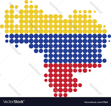 Venezuela Map Map Of Venezuela Royalty Free Vector Image Vectorstock