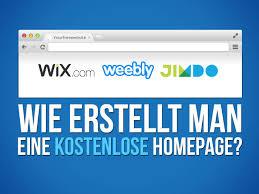 homepage designen kostenlose homepage welche anbieter ist der beste