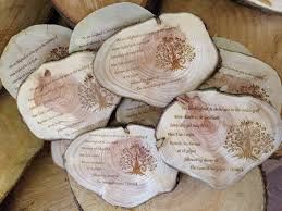 wooden wedding invitations rustic wedding invitations whatnot wood craft gallery