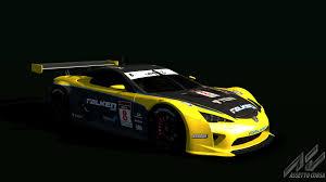 lexus racing car lexus lfa gt1 lexus car detail assetto corsa database