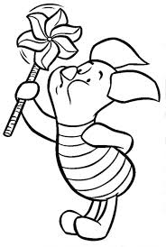 winnie pooh coloring pages baby halloween free sheets baby
