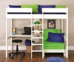 High Sleeper With Futon Futon Bunk Bed With Desk Foter