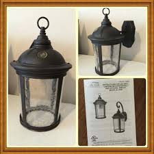 altair outdoor led coach light costco altair outdoor led coach light lighting outdoor led lantern w arm