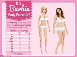 barbie u0027s body size walking