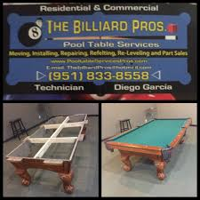 pool table movers inland empire website