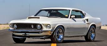 mecum 2016 musclecars 1969 ford mustang boss 429 fastback in