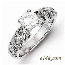 silver zirconia rings images Sterling silver cz jewelry cubic zirconia jewelry cz rings in 14k jpg