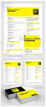 business card resume modern resume w matching business card by graphicsdump graphicriver