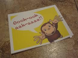 id mommy diy curious george monkey birthday party
