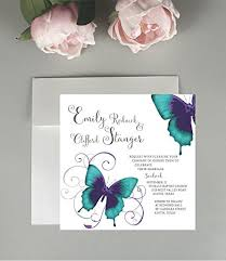 wedding invitation bundles butterfly wedding invitations wedding invitations
