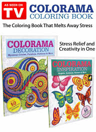 colorama decoration and inspiration coloring books as seen on tv