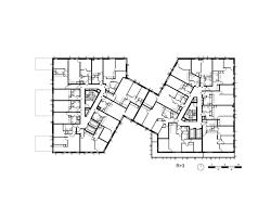 housing floor plans gallery of calberson housing s2 brenac u0026 gonzalez u0026 associés 28