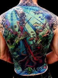 Back Pieces Tattoos Hallowed Point