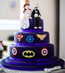 marvel cake toppers wedding cake wedding cakes superman wedding cake marvel