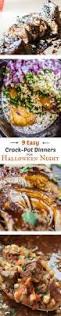 9 easy crock pot dinners for halloween night the food charlatan