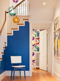 blue and brown living room waplag interior design home decoration