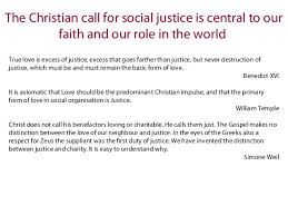 christianity and social justice exploring the meaning of welfare ref