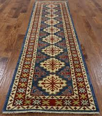 10 Runner Rug Super Kazak 3 X 10 Runner Geometric Oriental Rug Golden Nile