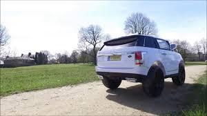 jeep range rover black kids remote control range rover vogue 12v electric jeep ride on