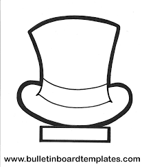 snowman top hat coloring page