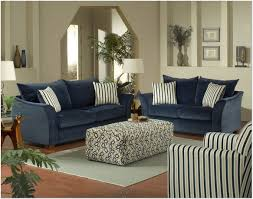 Navy Blue Sofa Set Brown Leather Couch And Decorating Ideas Awesome Innovative Home