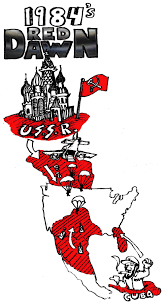 1984 Presidential Election Map by Red Dawn 1984 Was A Prophecy Of The Red Don Of 2016 U2014 By