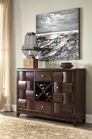 d582 60 ashley chanella dining room server dark brown knie