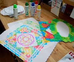 crafternoon today u2013 doily art pufferbellies toys u0026 books