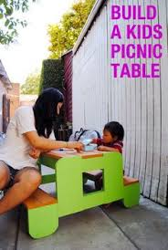 ana white build a build a bigger kid u0027s picnic table free and