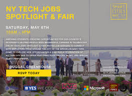 New York Ny Events U0026 Things To Do Eventbrite New York Tech Jobs Spotlight And Fair Tickets Sat May 6 2017 At