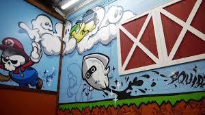 super mario graffiti on vimeo