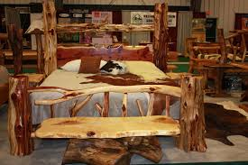 log bedroom furniture log furniture creating your unique professional log furniture or
