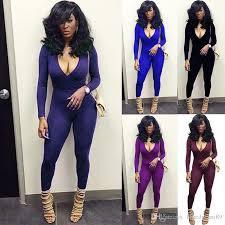plus size womens jumpsuits 2018 v neck plus size bodysuit rompers xl jumpsuits