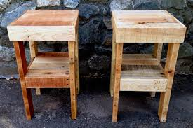 West Elm Bedside Table Hansen Industrial Loft Reclaimed Wood Chest Metal Base Nightstand