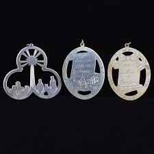 lunt sterling silver ornaments ebth