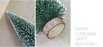 diy mini tree small pine tree cedar placed in the