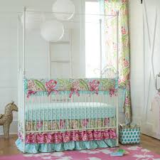 white wooden canopy bed with four poles also curtains brown idolza