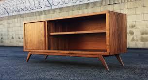 midcentury modern danish teak credenza cabinet circa image of